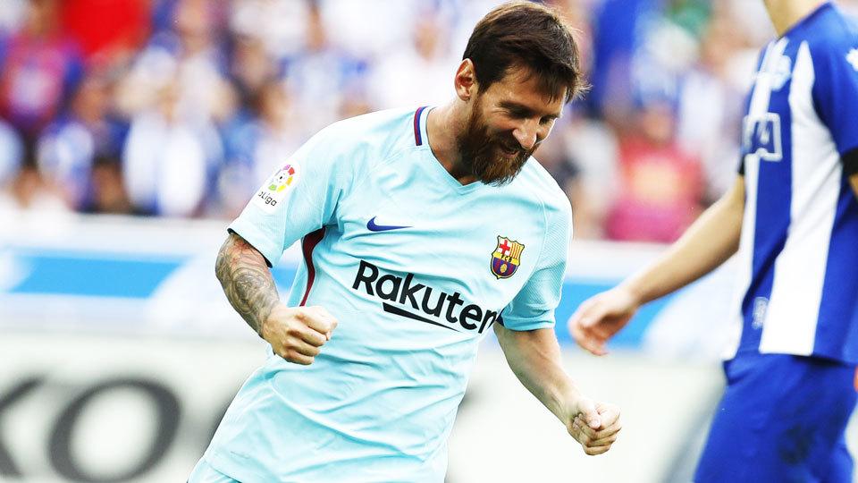 Messi: 2º no Fifa 18, com 93 pontos; Maior valor no Transfermarkt, 120 milhões de euros