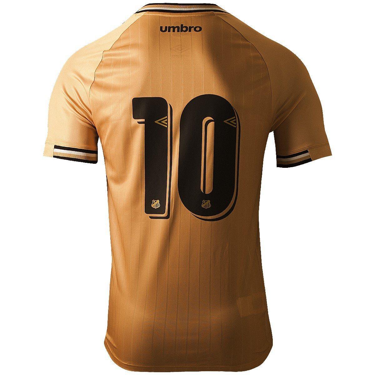 As novidades são a cor dourada predominante e o fim dos detalhes rosas nas  camisas femininas. A princípio e2a4e0b9508b2