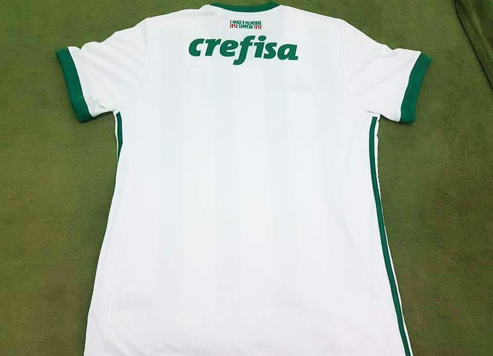 97edba3787 Nova camisa 2 do Palmeiras tem listras estilo Atlético Nacional ...