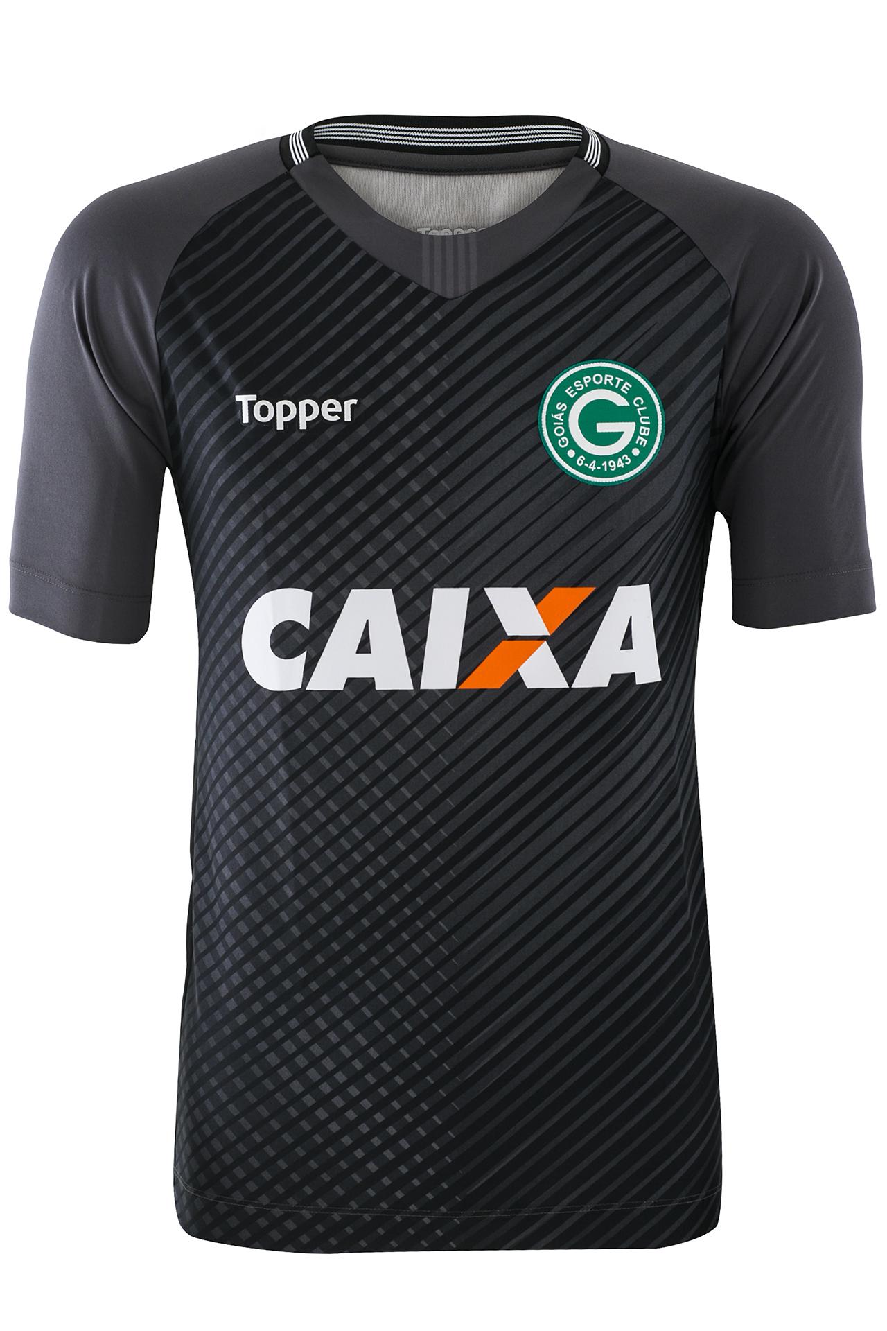 4a4ba3cff5 O novo enxoval do Goiás traz duas opções de camisas de goleiros