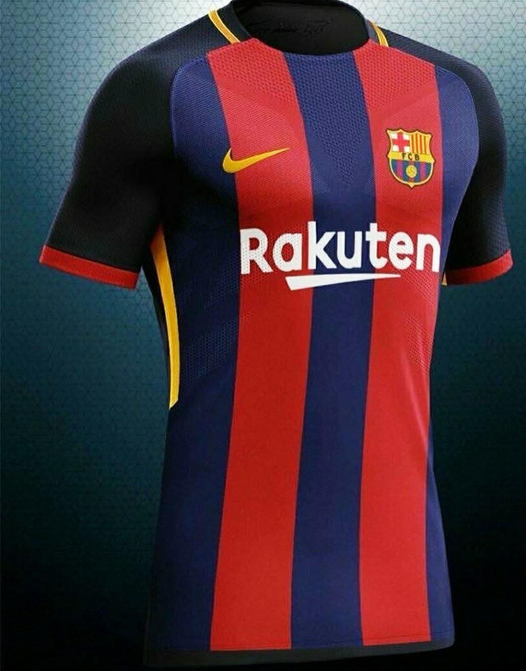 Jornal já vaza nova camisa 1 do Barcelona para a próxima temporada ... dddc69f652e43