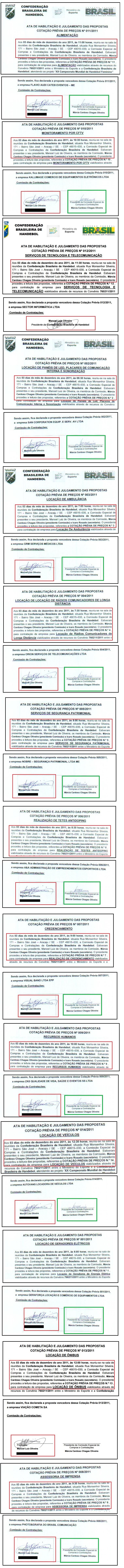 Em verde, assinaturas de Márcia em 12 das 14 atas que estão na mira da PF