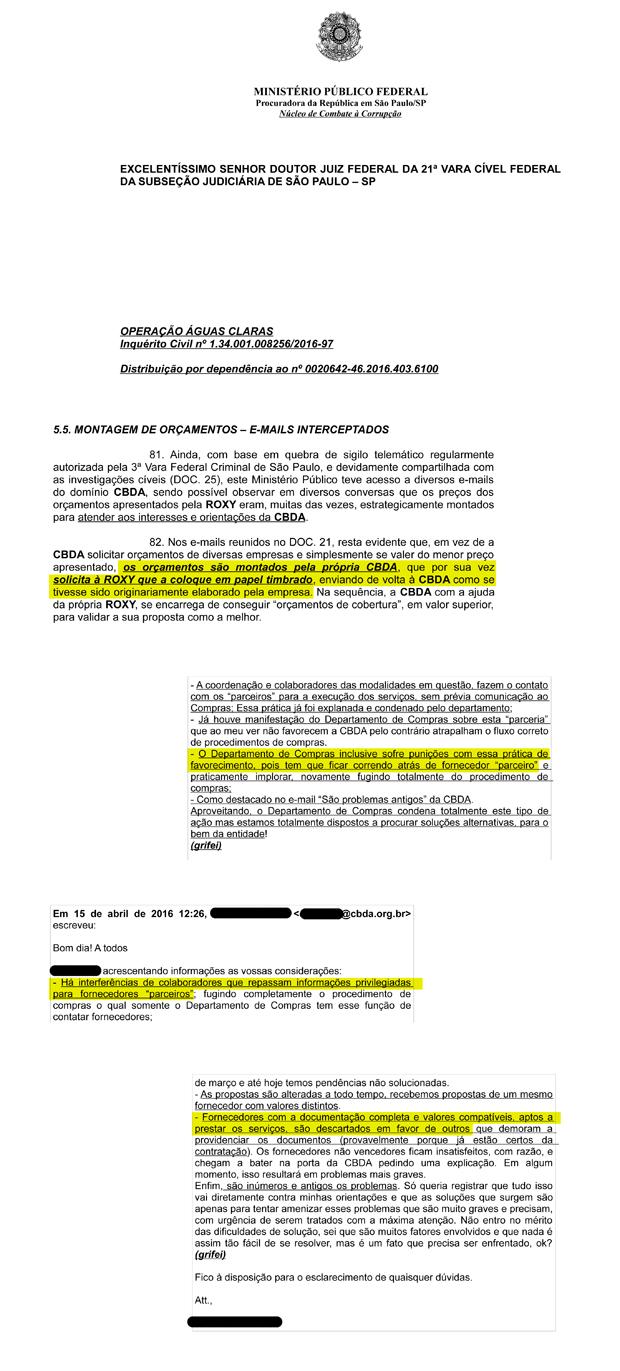 Documentos CBDA