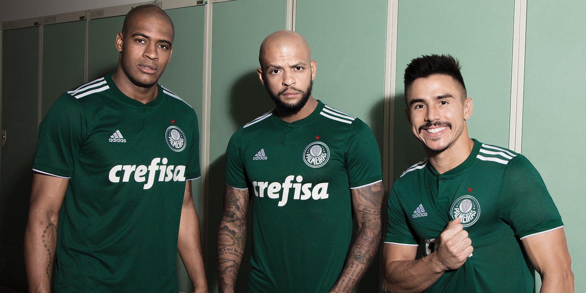 A nova camisa deve fazer sua estreia nas finais do Paulistão. ec0e73f8305ab