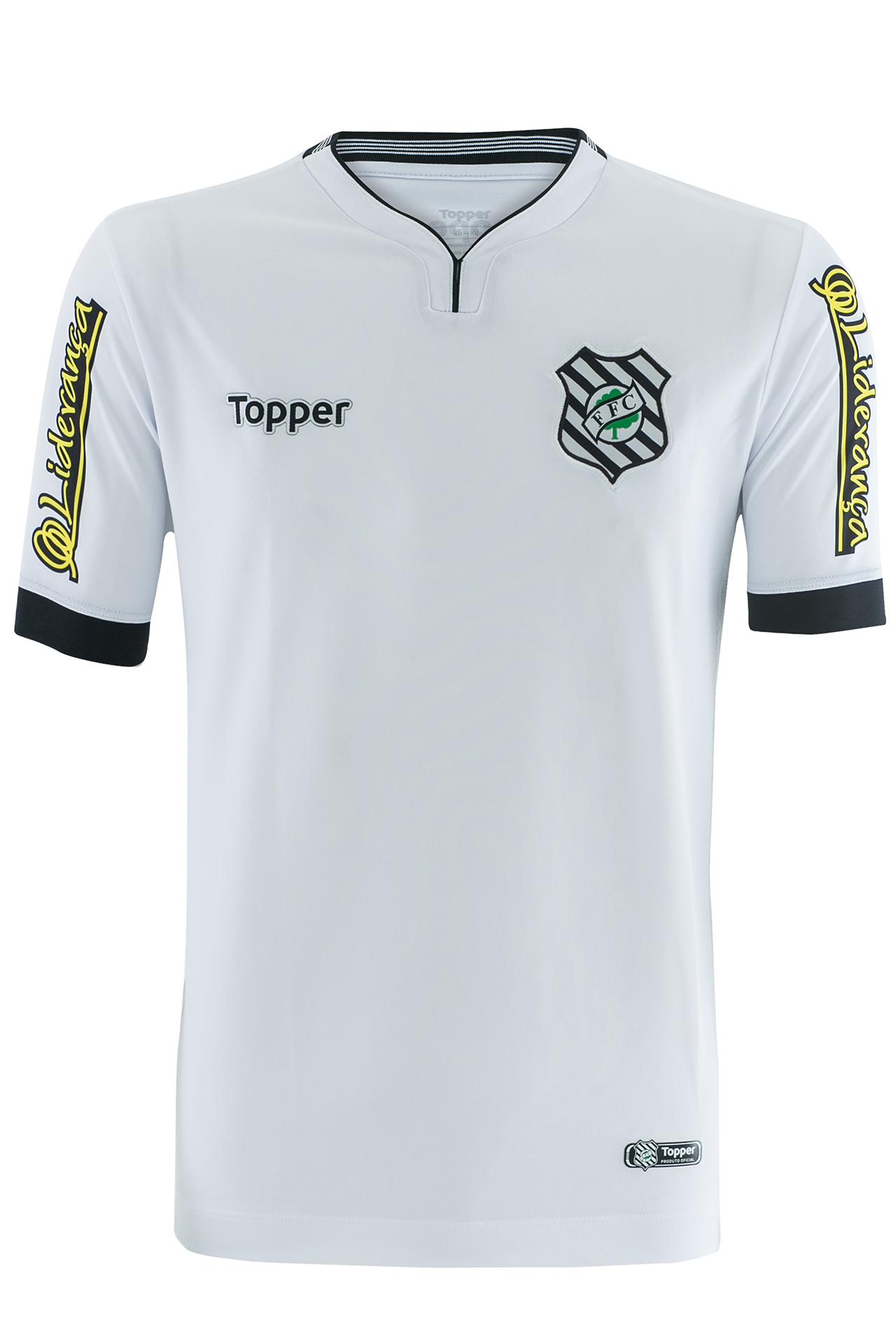Figueirense muda fornecedora e apresenta novas camisas 1 e 2  7a91360efbf38