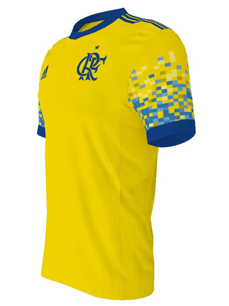 7af9821953 Lyon apresenta nova camisa 3 para a temporada