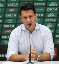 O Diretor Executivo de Futebol da Chapecoense, Rui Costa