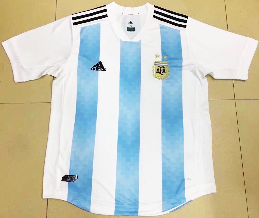 12d082f1c957f Nova camisa da Argentina para a Copa do Mundo 2018 vaza na web ...