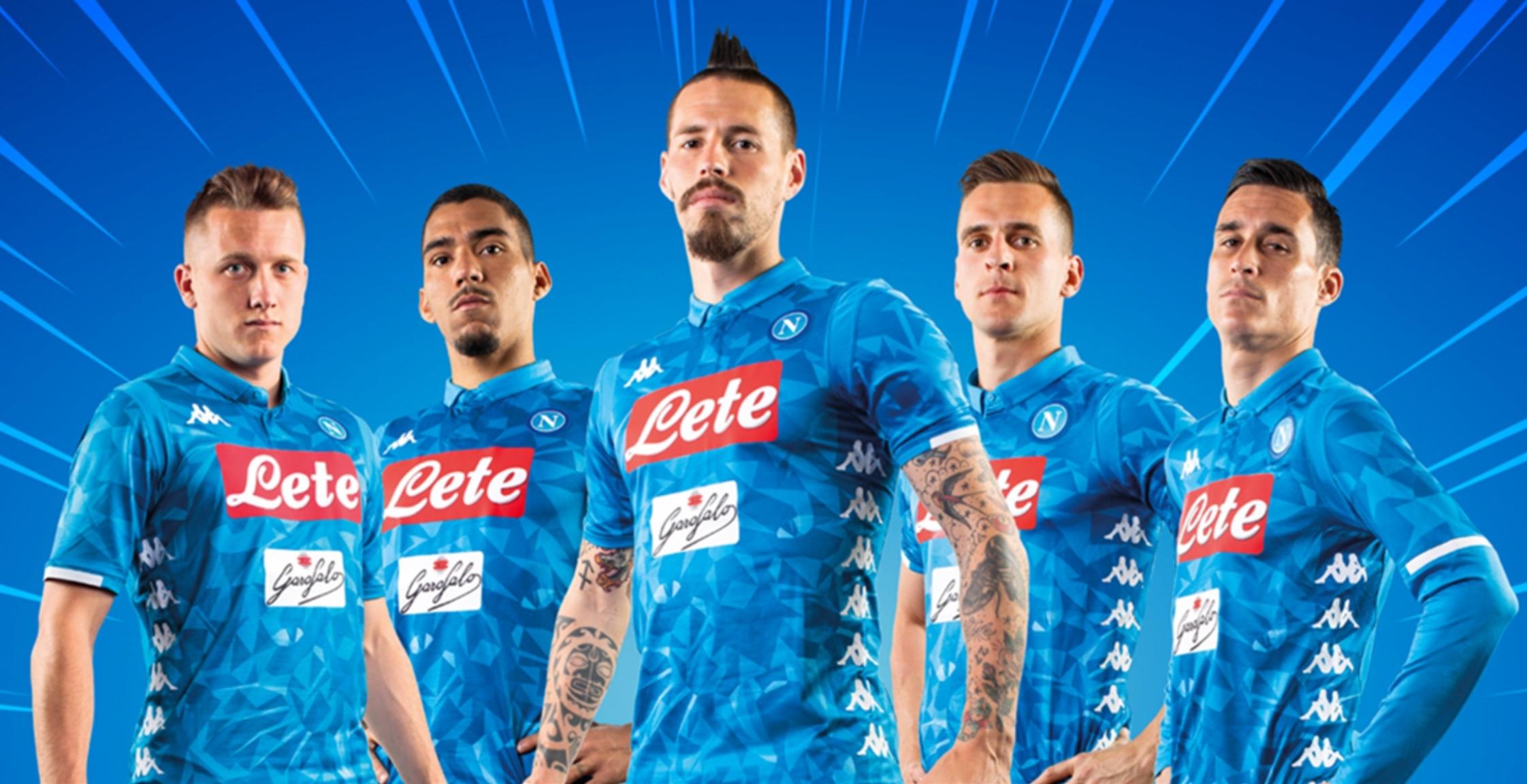 Napoli lança nova camisa ousada e divide opiniões  6a929776cf8d2