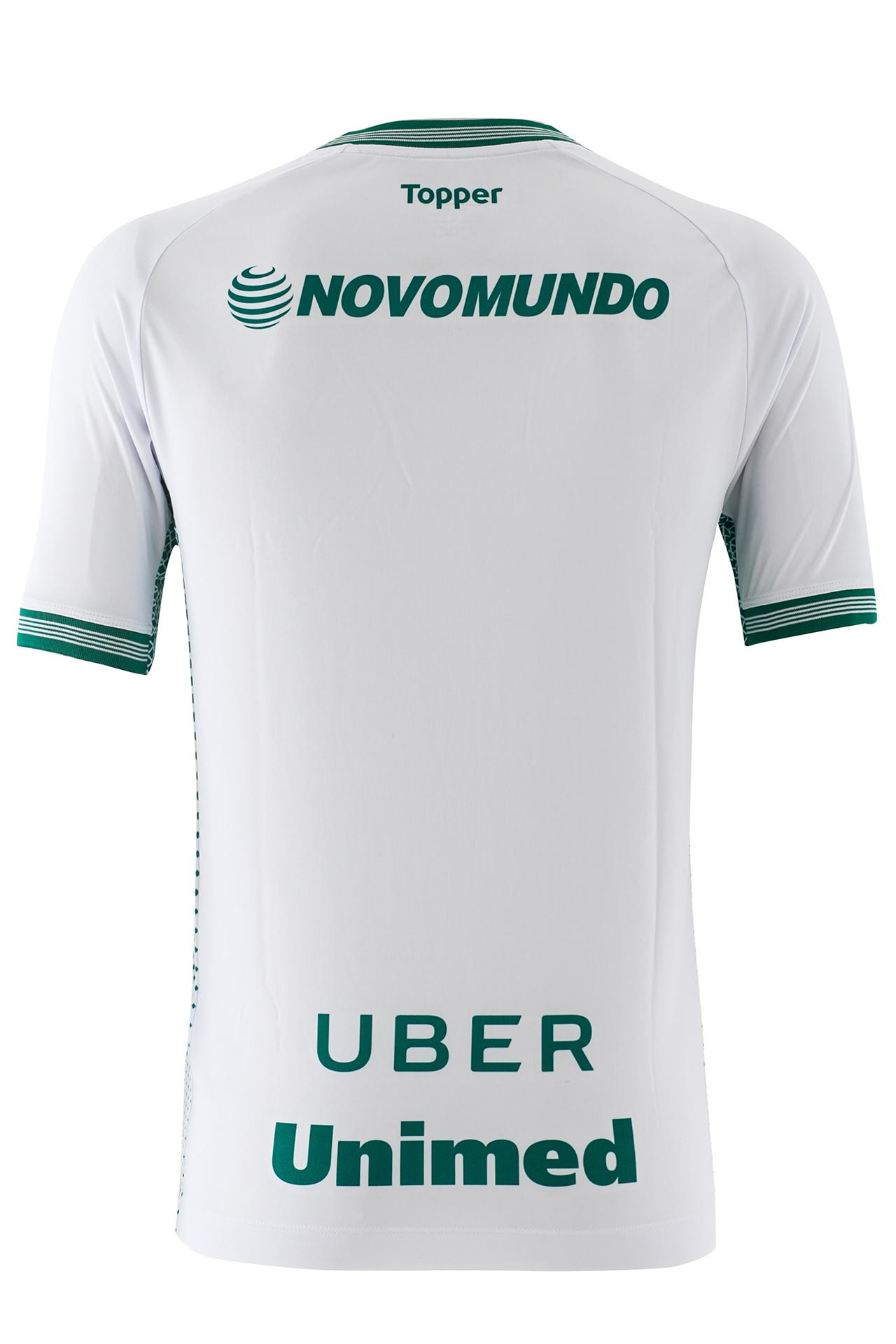 O novo enxoval do Goiás traz duas opções de camisas de goleiros f0082f7311b57