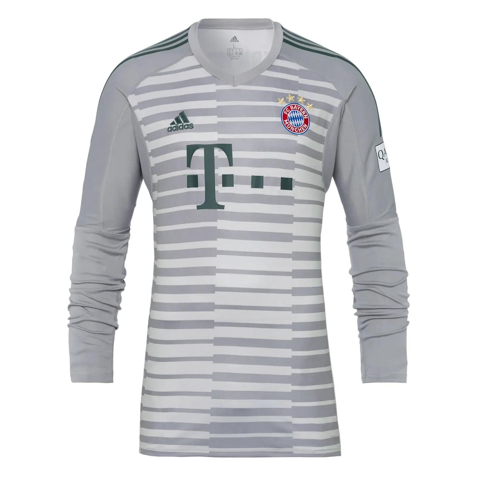 Bayern de Munique apresenta nova camisa 1 e novo uniforme de goleiro ... eb2ca348e7f52