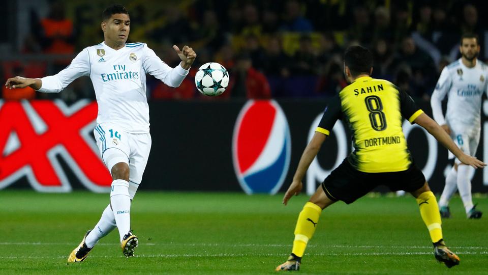33º: Casemiro (volante), do Real Madrid