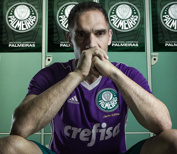 d7bc2cf4ac Nova camisa de goleiro do Palmeiras