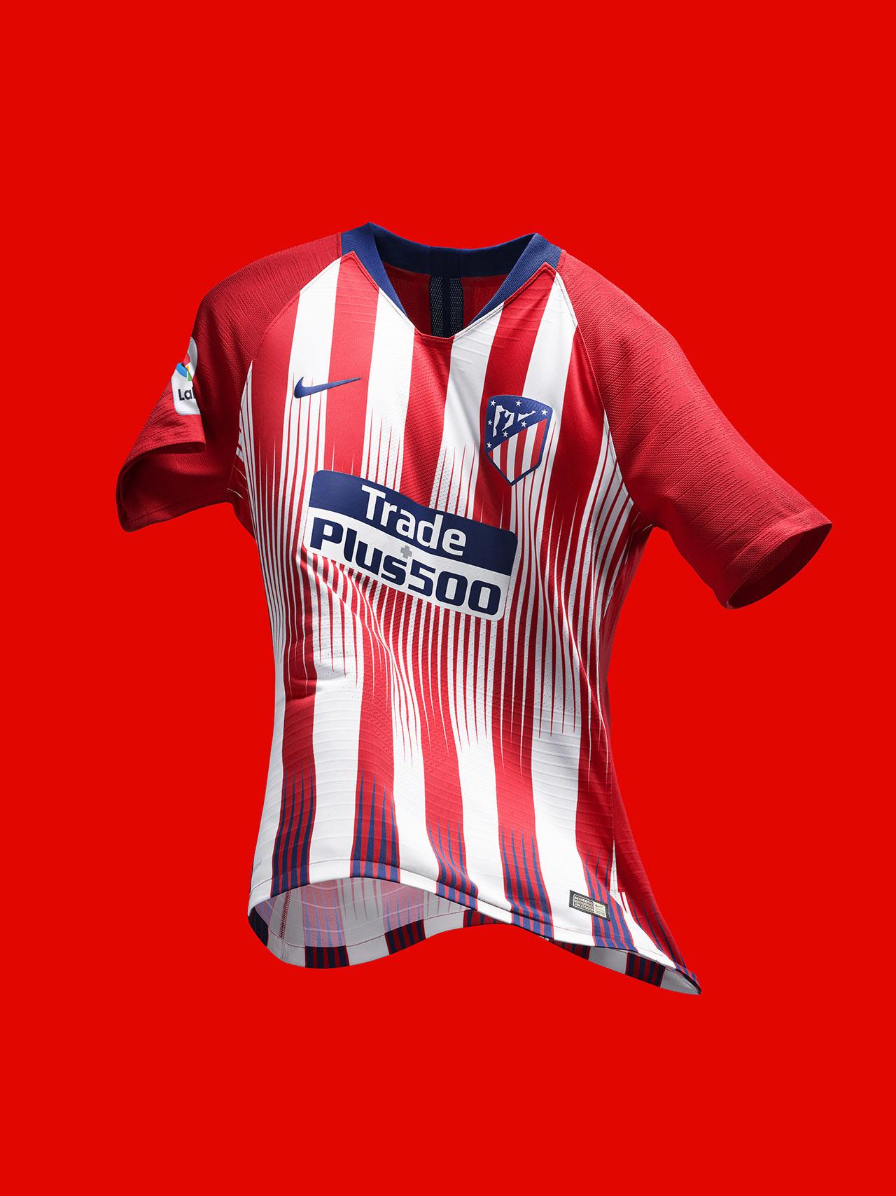 Atlético de Madri apresenta novo uniforme ousado para a próxima ... 56fba0a1a30e5