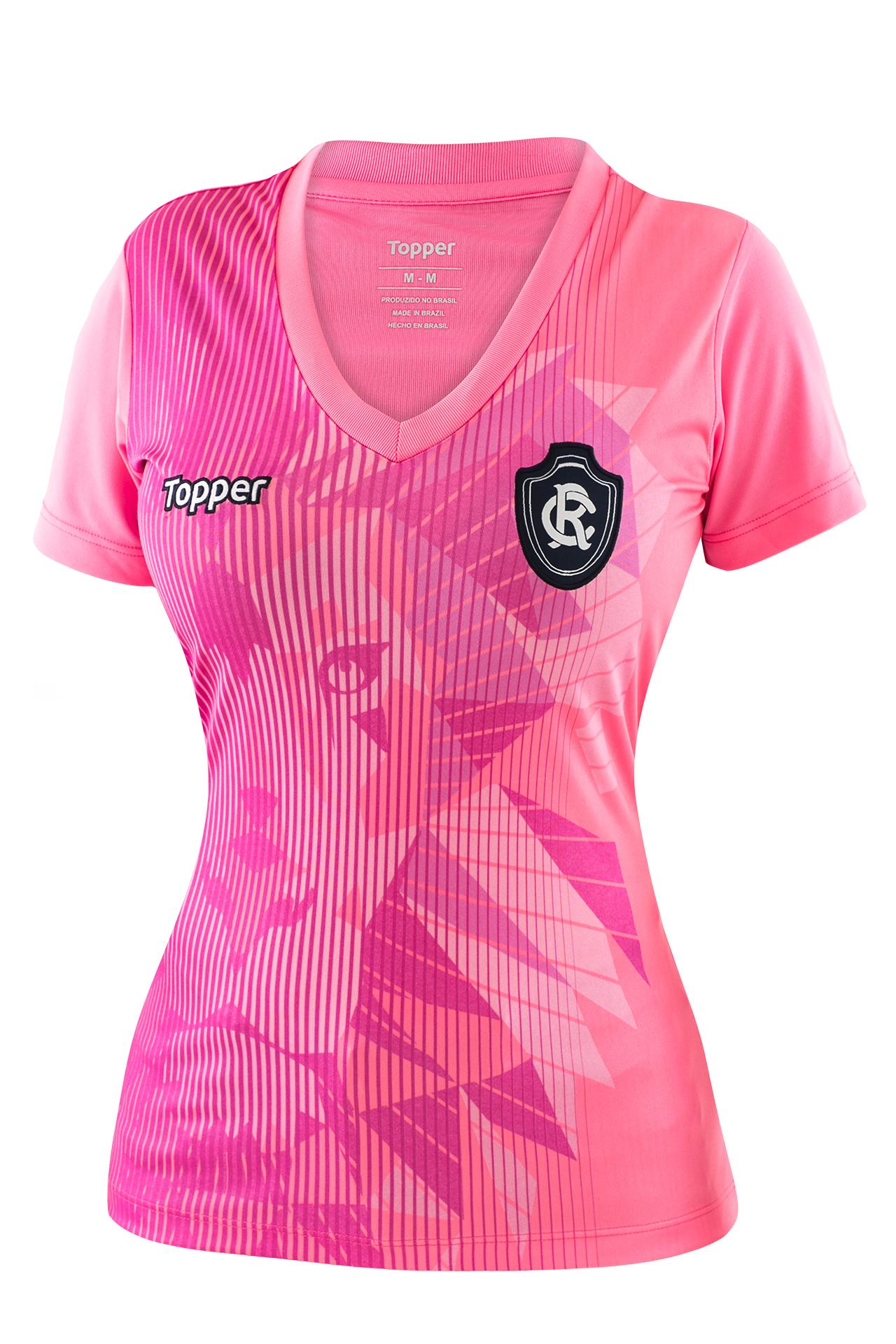 Fornecedora lança camisas alusivas ao Outubro Rosa para 11 clubes ... b84e8c4e0d3fc