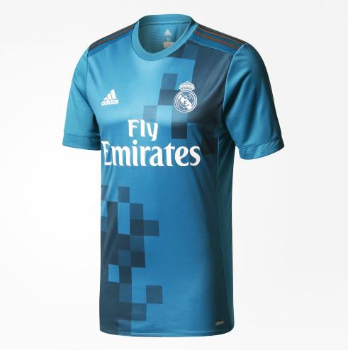 Real Madrid apresenta nova camisa 3 42e7aad7f59eb