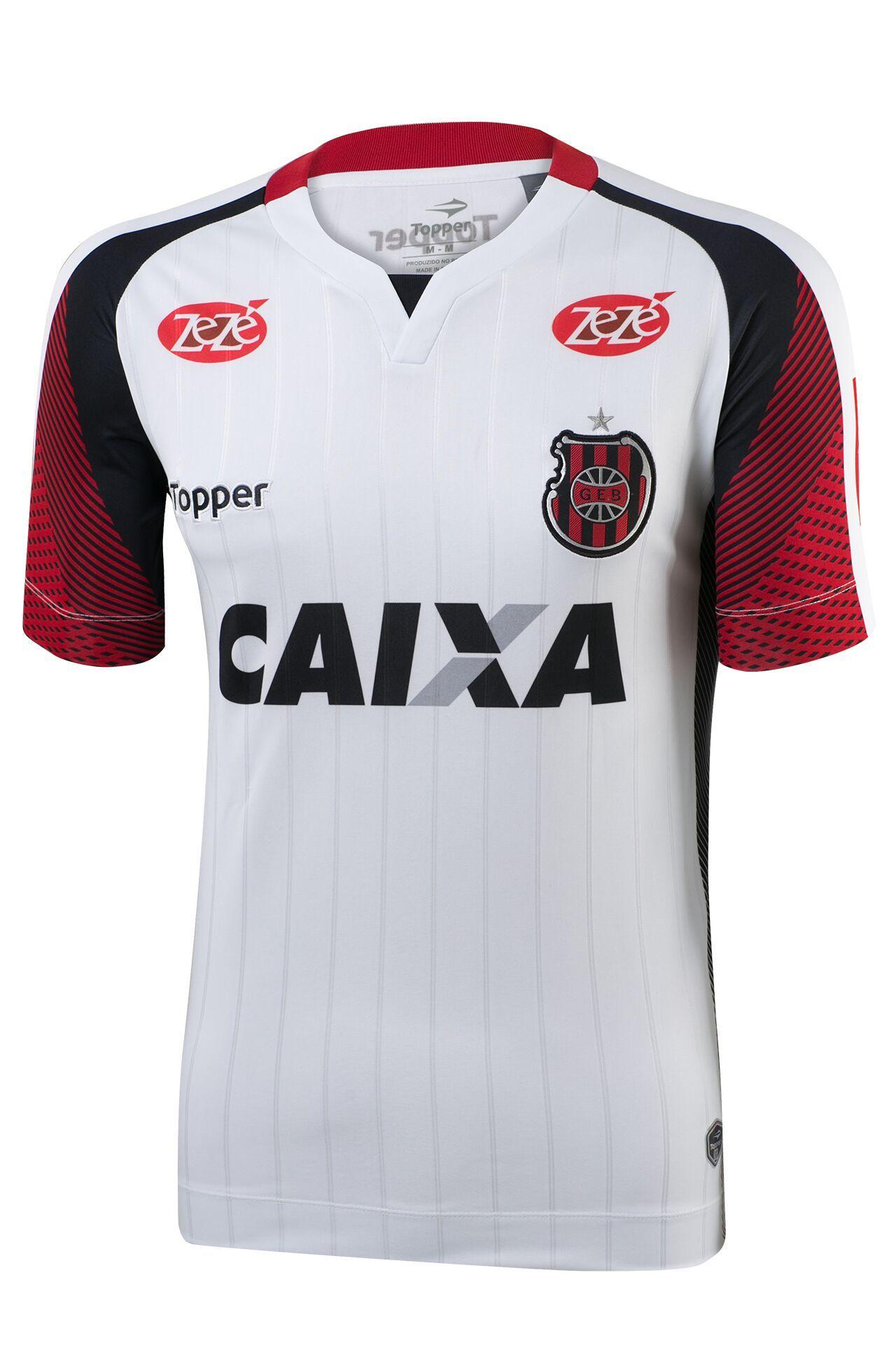 4cebddf195 Brasil de Pelotas lança novas camisas 1 e 2 para 2017 18