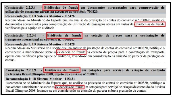 Auditoria da CGU cobrou Ministério do Esporte sobre fraudes em convênio antigo