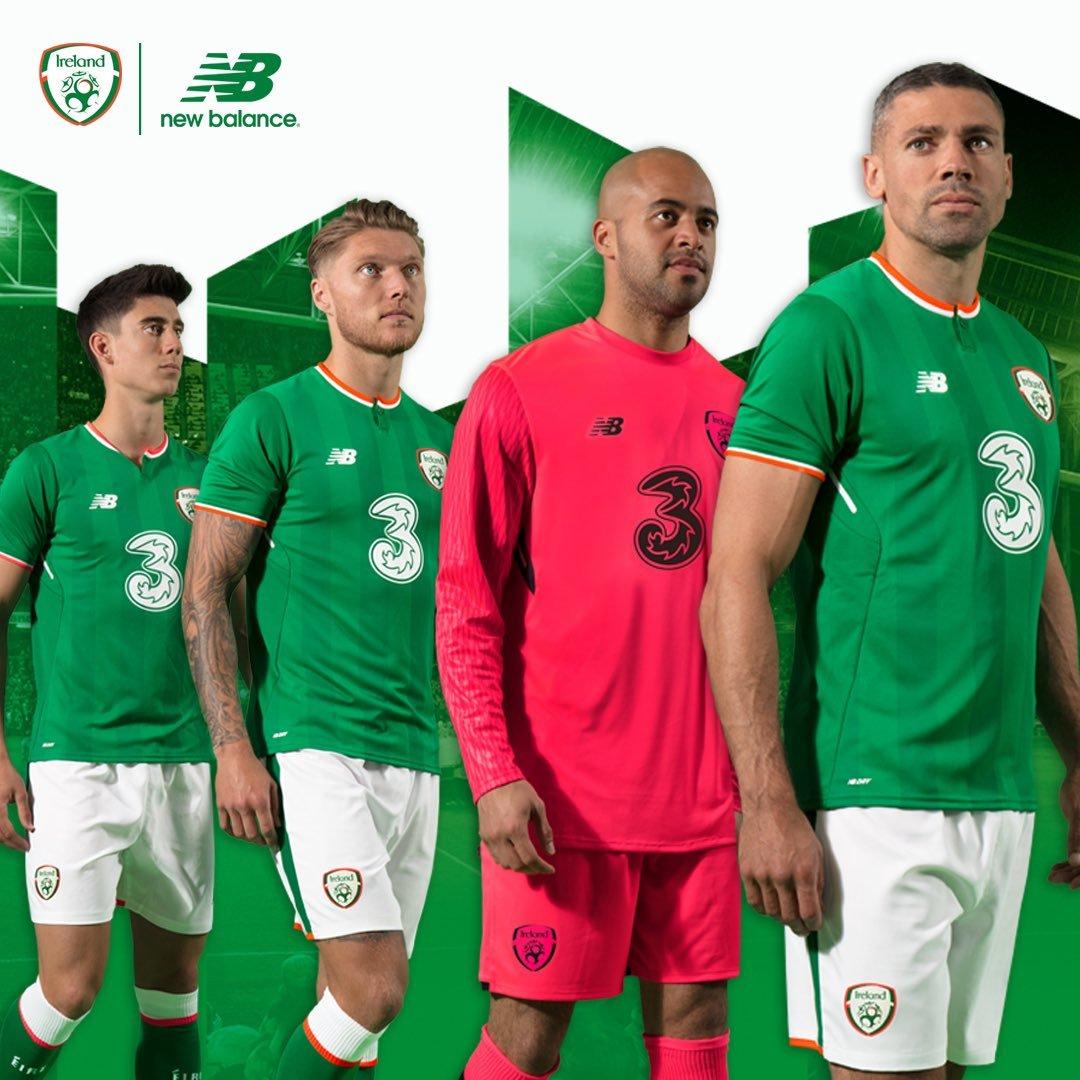 A parceria entre Irlanda com a Umbro 583553dcdde8d