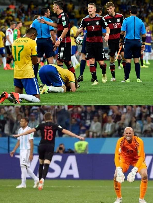 6368db55c9 Alemanha 7 a 1 e Croácia 3 a 0  patéticos times de Brasil e Argentina