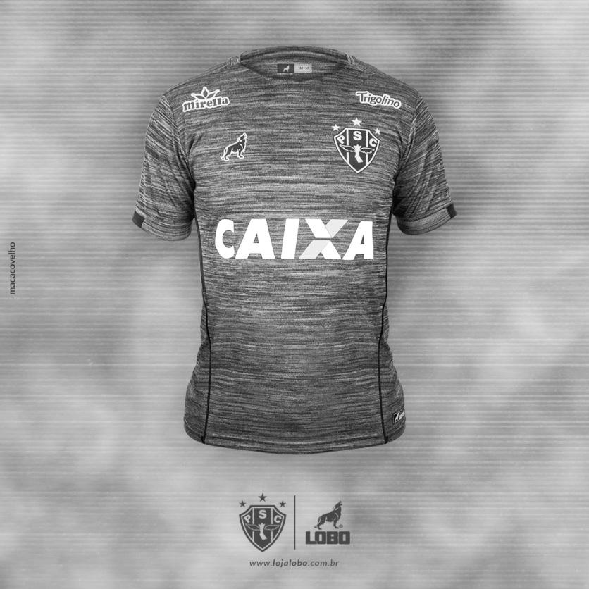 45785ba9d6 Paysandu capricha e lança bela camisa 3 cinza
