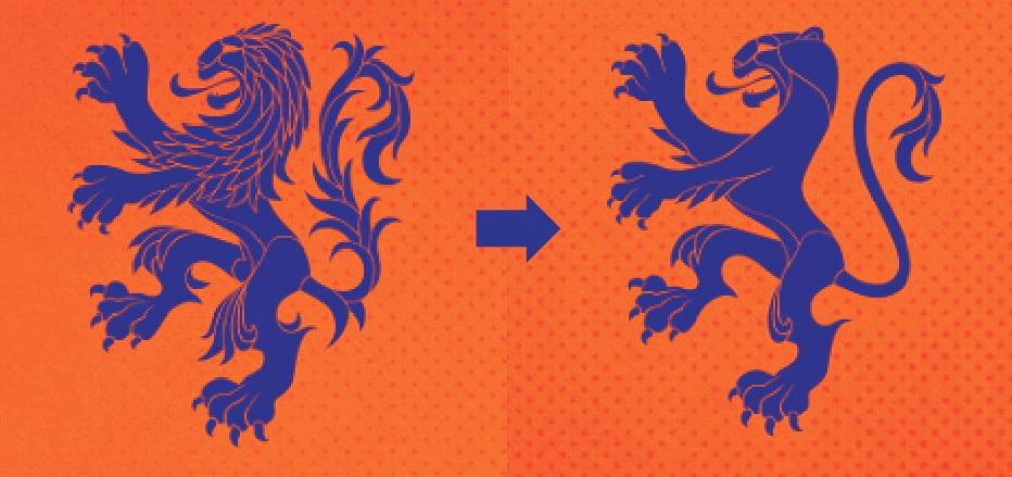 829445acdb223 Holanda inova e cria escudo específico para a seleção feminina  veja ...