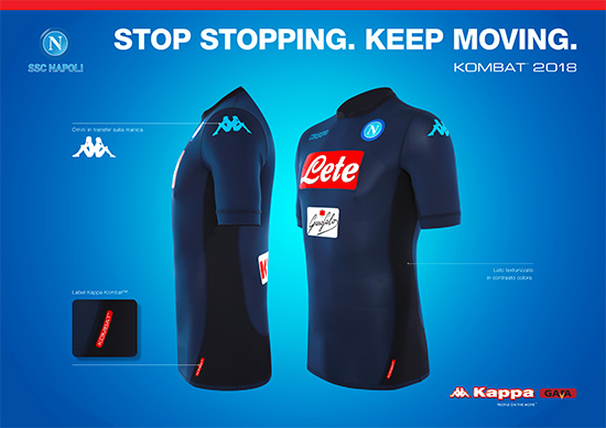 Nerazzurri  Napoli apresenta nova camisa 3 azul-marinho e preta ... 0712f1894c00a