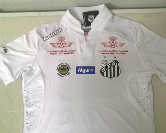 Reprodução Santos FC. sfc-camisa 91ae47c7f3545