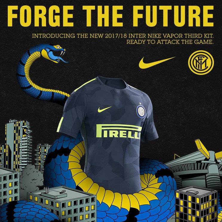 90f0f32452 Inter de Milão apresenta nova camisa 3 para a temporada