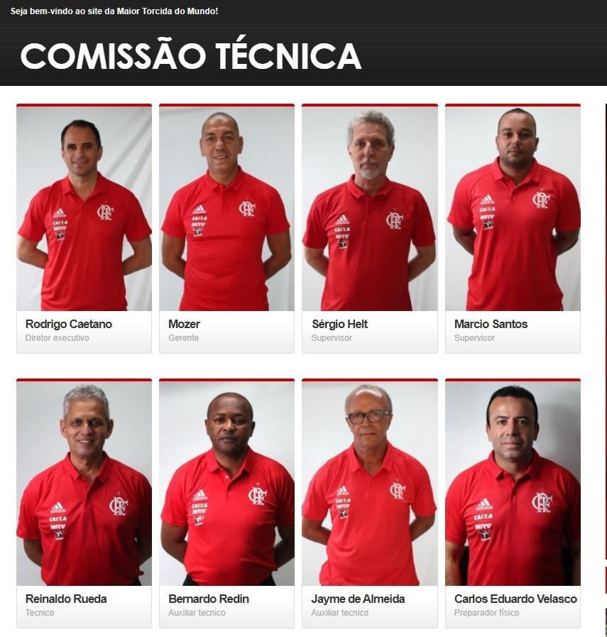 Departamento de Futebol do Flamengo tem diretor executivo e gerente: má temporada