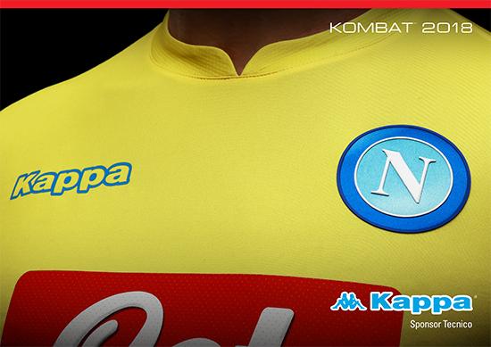 9ef7530884fc3 A nova camisa 2 amarela foi apresentada nesta terça-feira pela Kappa.
