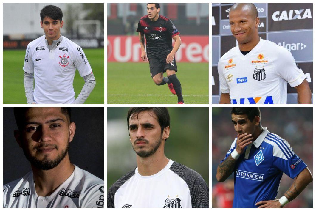 Os seis gringos que chegaram no trio paulista para a disputa do Brasileirão 356a8eb9a736a
