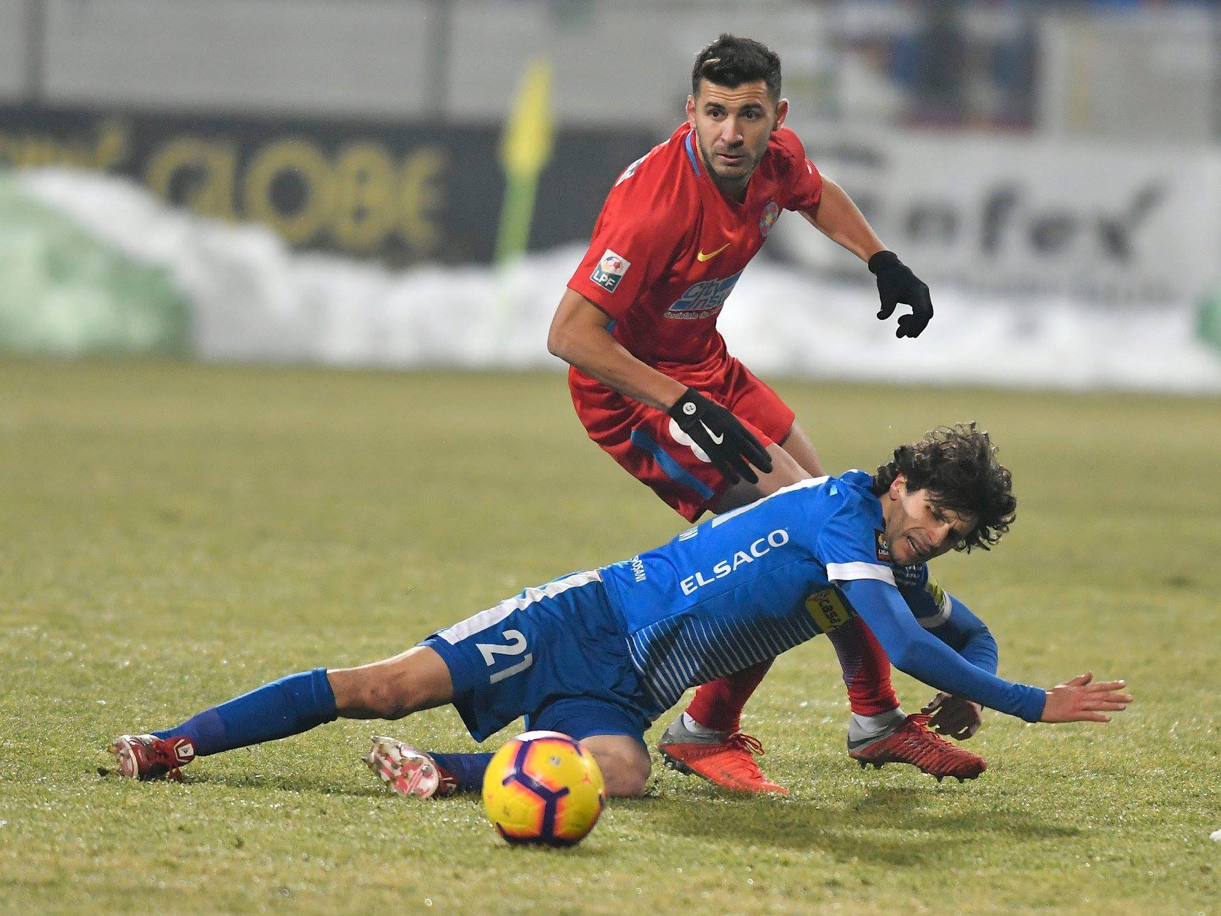 7e7f40381c Botosani e Steaua em campo pelo Campeonato Romeno