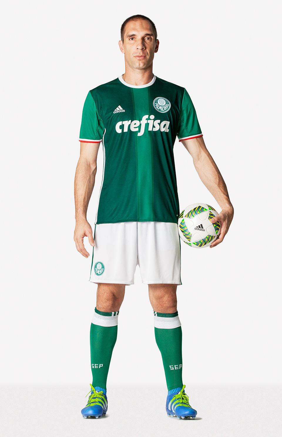 315252c027 Fernando Prass Nova Camisa Palmeiras 03 05 2016