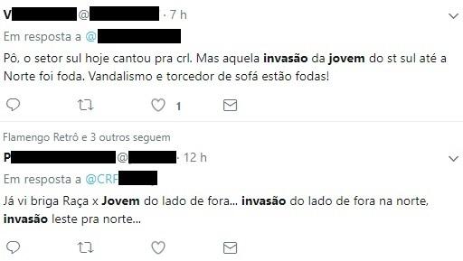 Torcedores comentam invasão do Maracanã em rede social