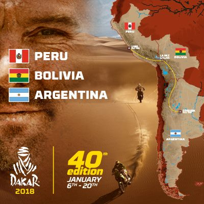 Roteiro do Rally Dakar 2018