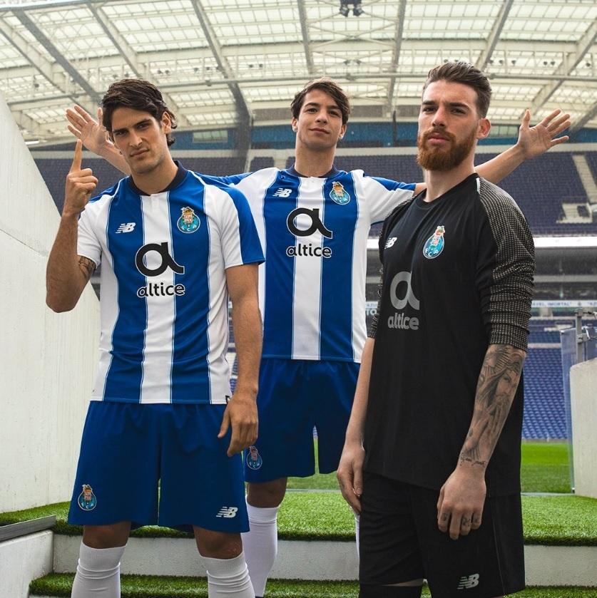 9ccdc6d829 O Porto apresentou nesta quarta-feira sua nova camisa 1.