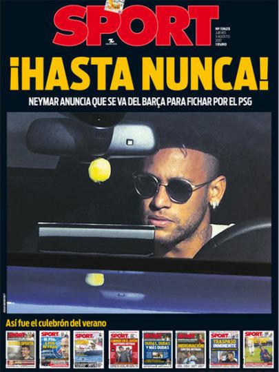 """""""Até nunca!"""" Sport, da Espanha"""