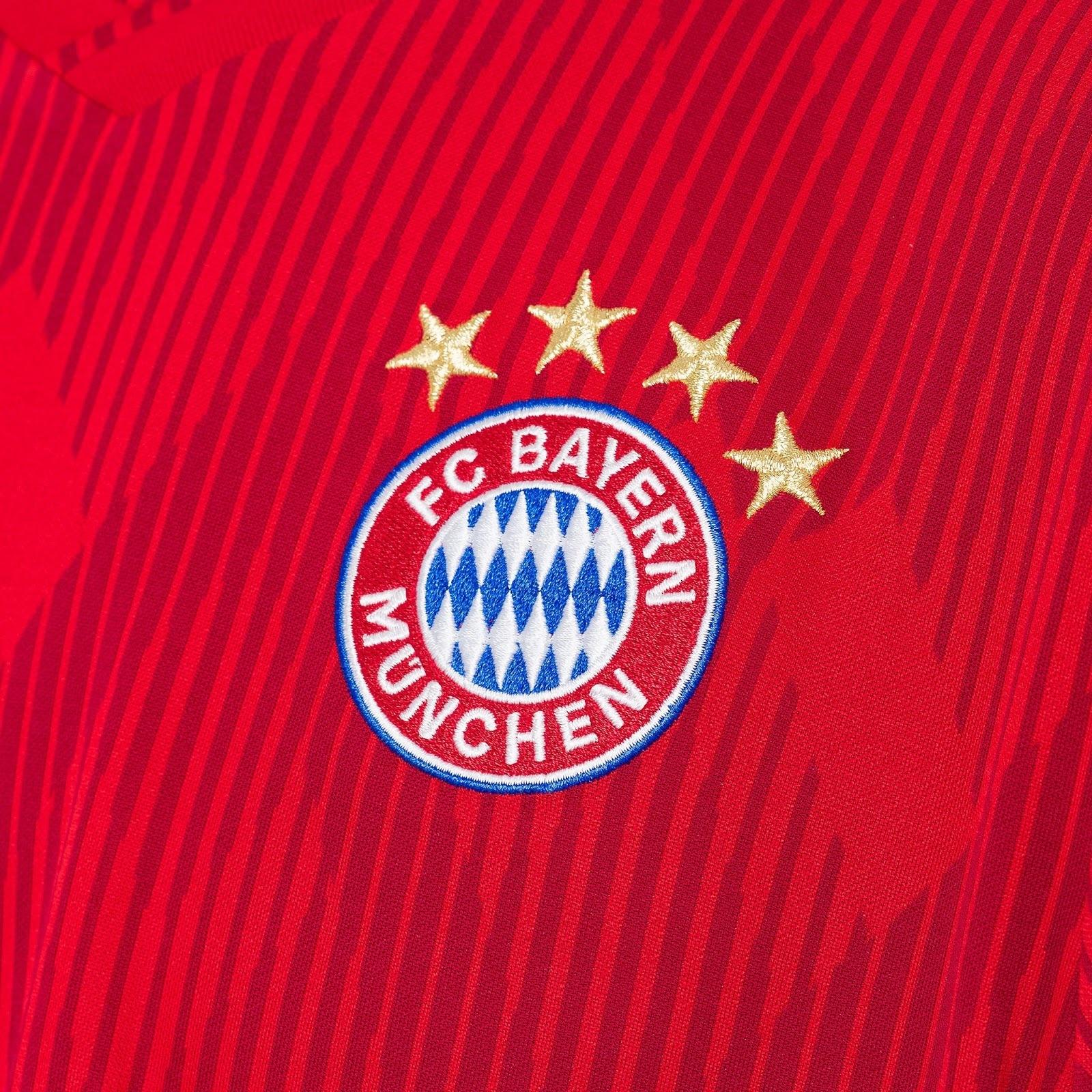 644cc2b74d Bayern de Munique apresenta nova camisa 1 e novo uniforme de goleiro ...