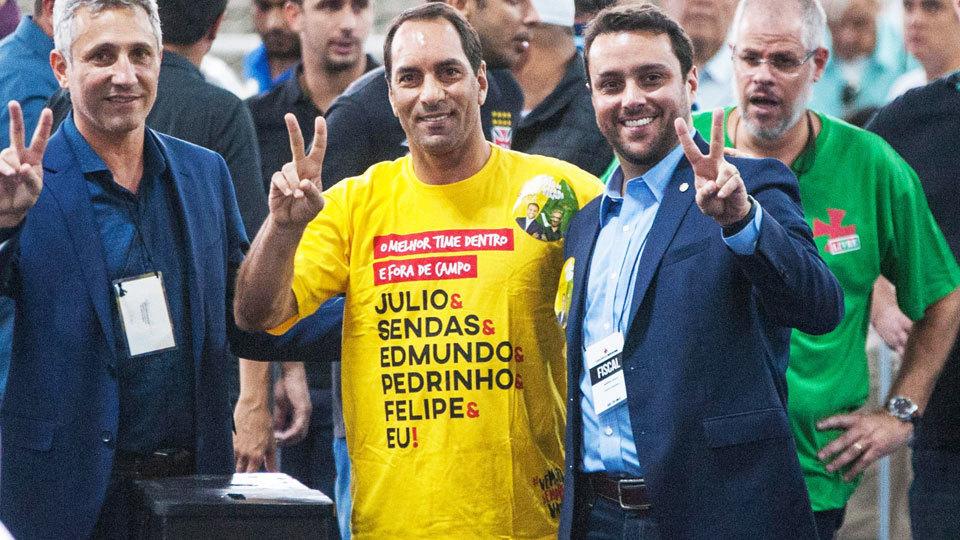 Vasco  presidente rompe com Eurico a0bb5d7fd4060