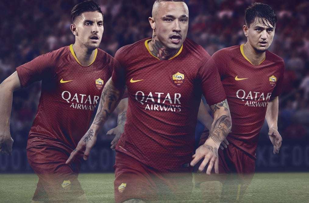 e564f10950 Roma lança nova camisa 1
