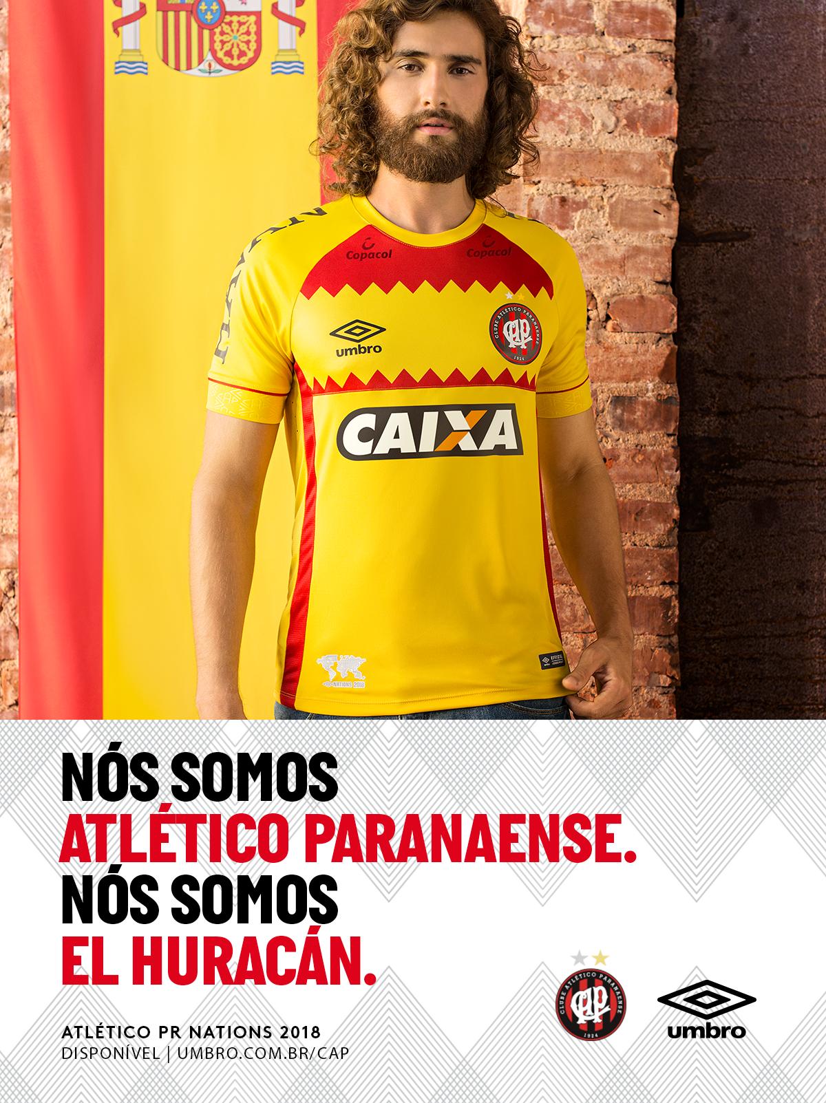 Fornecedora diz que Atlético-PR aprovou camisa polêmica e coloca ... 1a263ceebb9d7