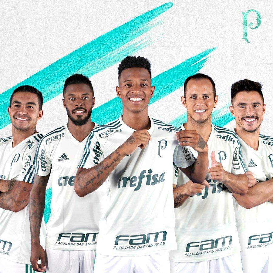 5145912d44270 Palmeiras troca amarelo pelo branco e adota escudo antigo em nova ...