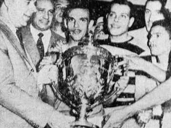 Jair Rosa Pinto Troféu Copa Rio 1951 Palmeiras Juventus 22/07/1951