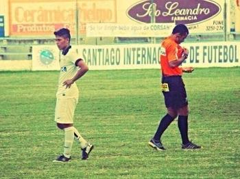 Gabriel na Copa Santiago, pelo Corinthians