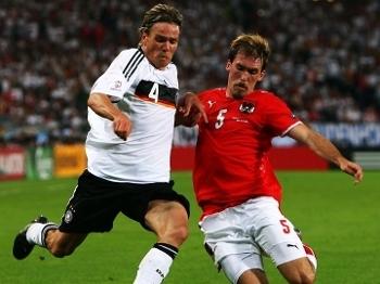 Fritz em ação na Eurocopa de 2008