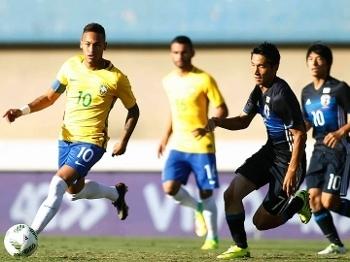 Neymar foi um dos destaques contra o Japão 48daaabe51675