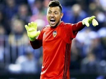 Diego Alves Valencia Real Madrid Campeonato Espanhol 22/02/2017