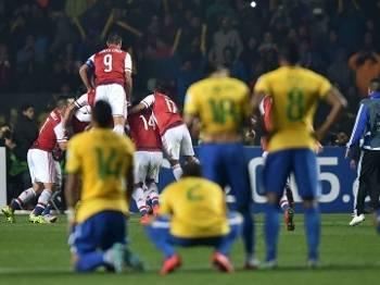 Paraguai comemora: o Brasil está fora da Copa América
