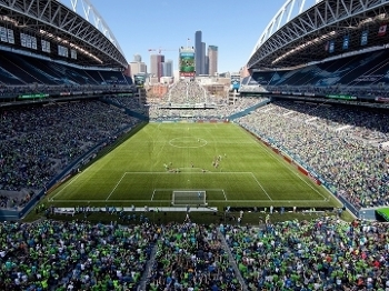 CenturyLink Field Seattle Sounders Colorado Rapids MLS 14/04/2012